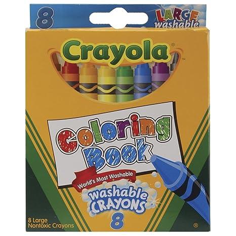 Amazon.com: Bulk Buy: Libro para colorear Crayola grande ...