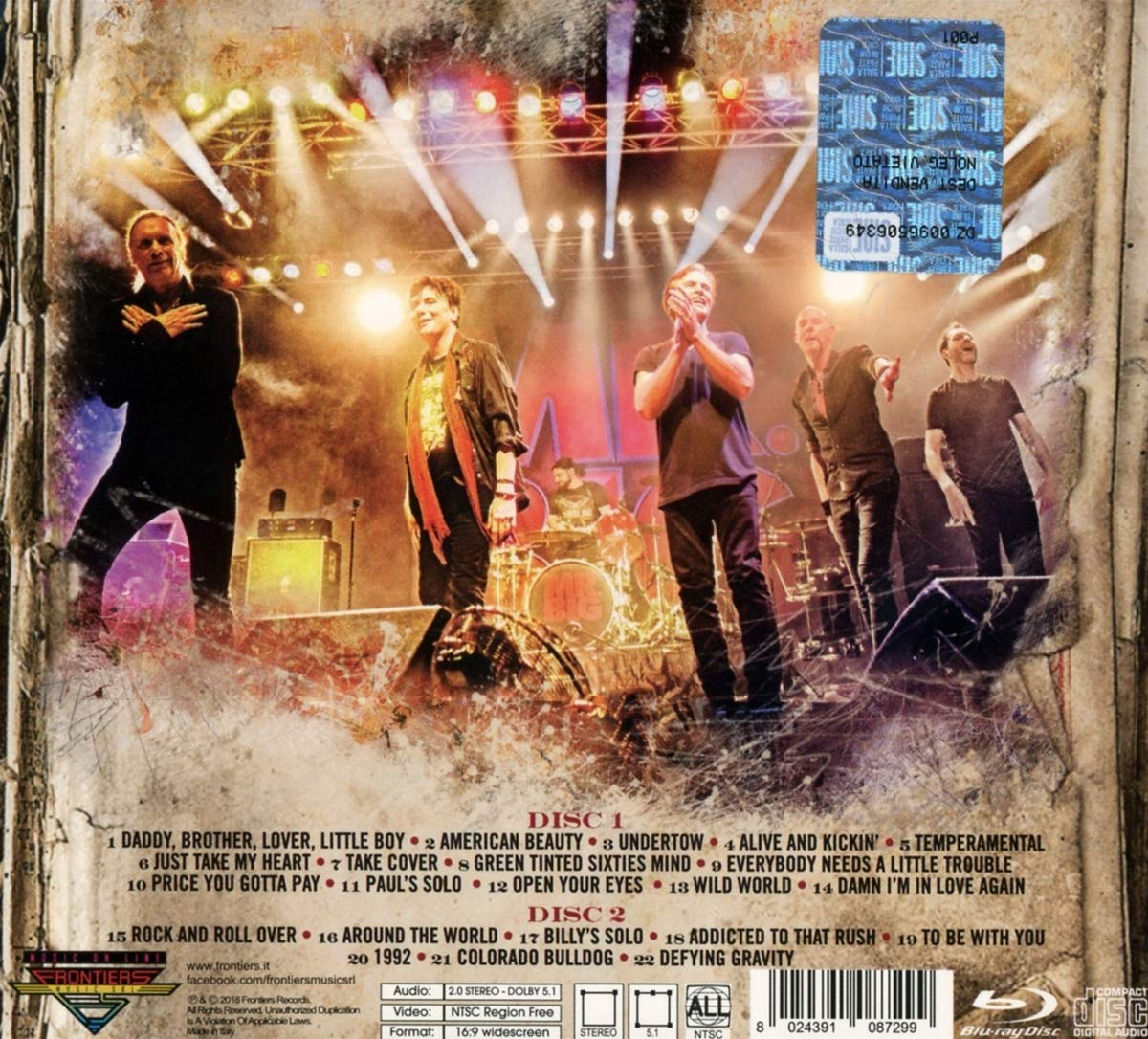 Live From Milan (2CD & Blu-ray) by FRONTIERS MUSIC SRL (Image #1)