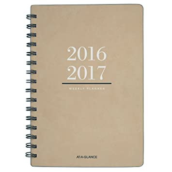 amazon at a glance academic year weekly monthly planner july 2016