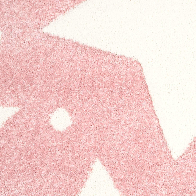 Taracarpet Kinderzimmer und Jugendzimmer Jugendzimmer Jugendzimmer Teppich Dreamland Kinderzimmerteppich Sterne grau Creme 120x120 cm rund B07N7VJCNK Teppiche 182889