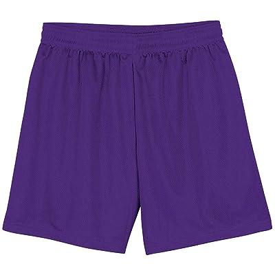 A4 Big Boys' Comfort Moisture Elastic Waistband Micromesh Short