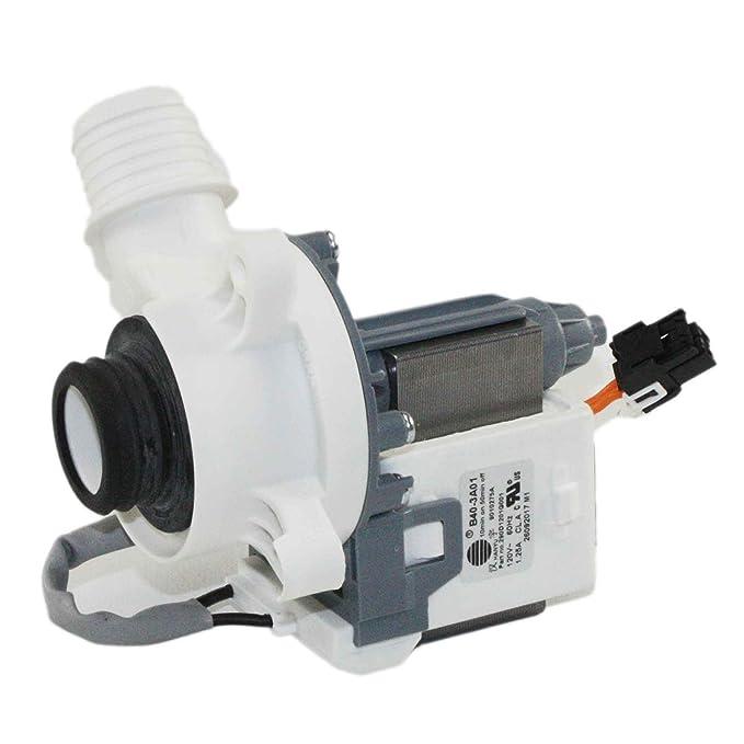 Ge WH23X27574 Washer Drain Pump Assembly Genuine Original Equipment  Manufacturer (OEM) Part