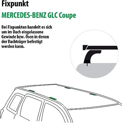 Rameder Komplettsatz Dachträger Tema Für Mercedes Benz Glc Coupe 118846 36676 1 Auto