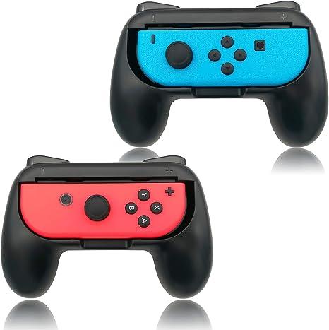 FYOUNG Empuñaduras Grip para Nintendo Switch Joy-con Mandos Set, Cómoda Agarres para Manos Grip Funda de Gamepad para JoyCon Controller: Amazon.es: Electrónica