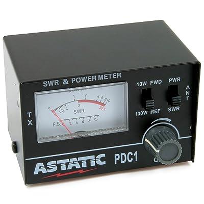 Astatic PDC1 100 Watt SWR Meter: Automotive