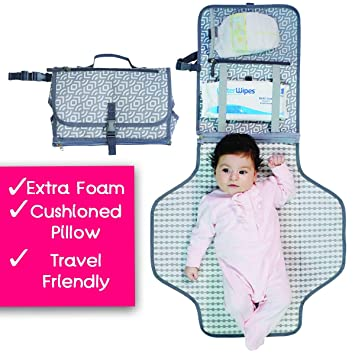 Amazon.com: IKKOS - Cambiador de pañales para bebé, portátil ...