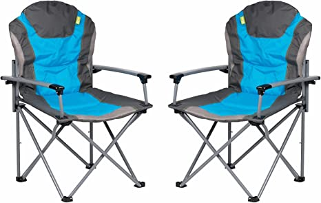Kampa Guv/'nor Folding Armchair Blue