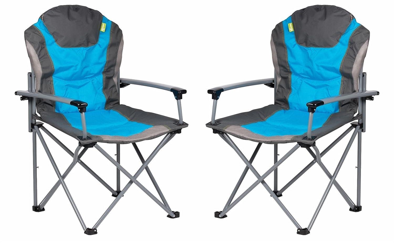 Kampa der GUV Hat Sessel – Blau X 2