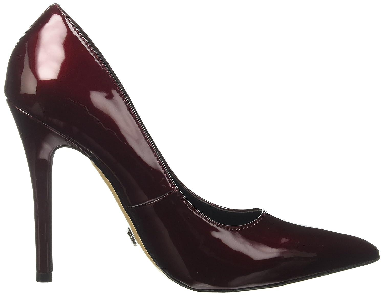 108403184VE, Zapatos de Tacón con Punta Cerrada Mujer, Rojo (Bolred), 37 EU Prima Donna