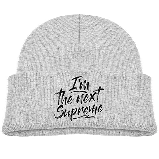 Amazon com: I'm The Next Supreme Beanie Cap Skull Hat Baby Boy: Clothing