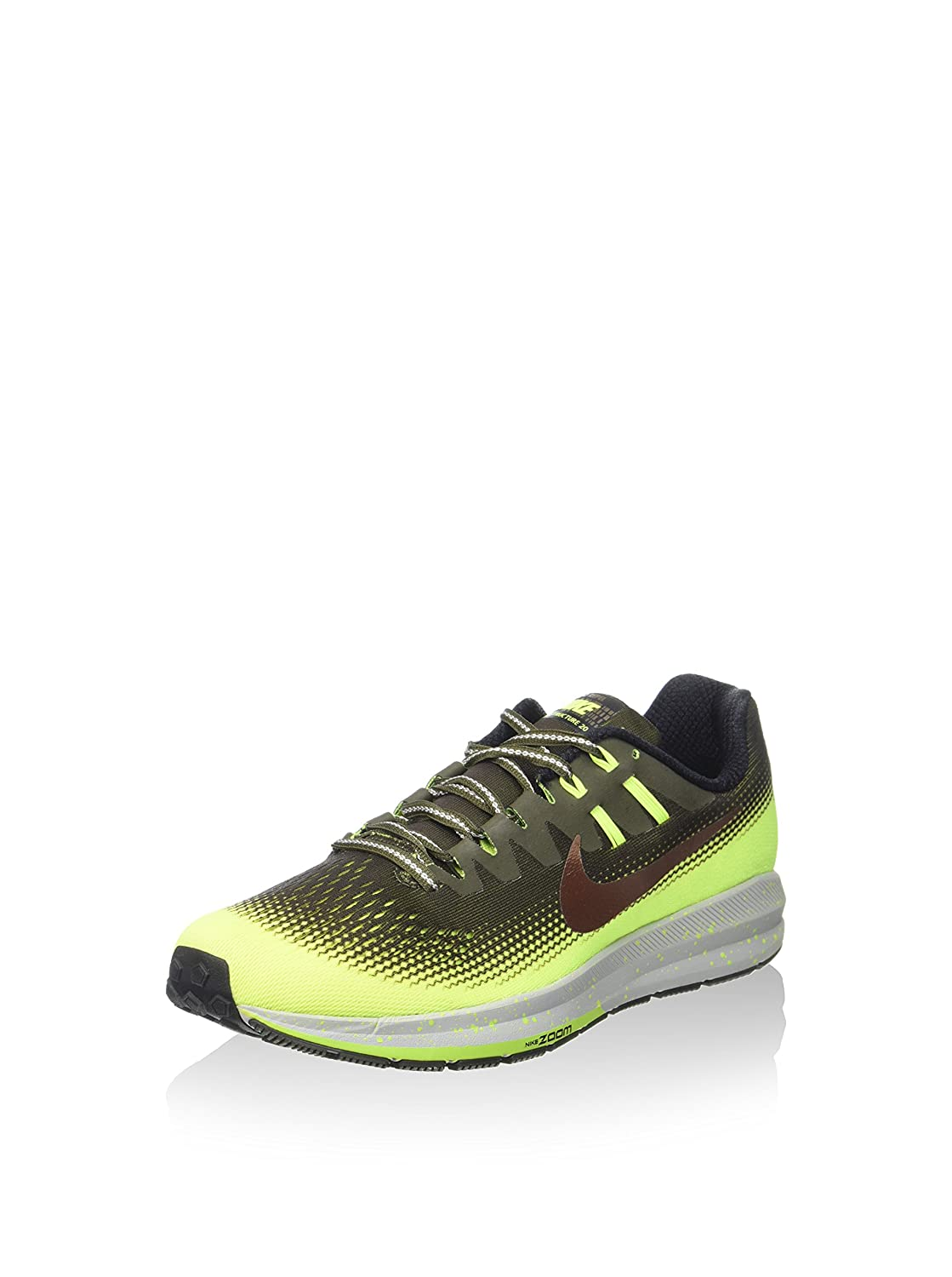half off ed0cd f6d09 Amazon.com   Nike Men s Air Zoom Structure 20 Shield Running Shoes    Athletic