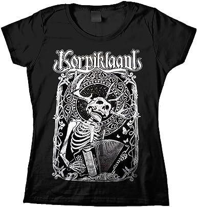 Korpiklaani - Camisa - Mujer Negro negro Small: Amazon.es: Ropa y accesorios