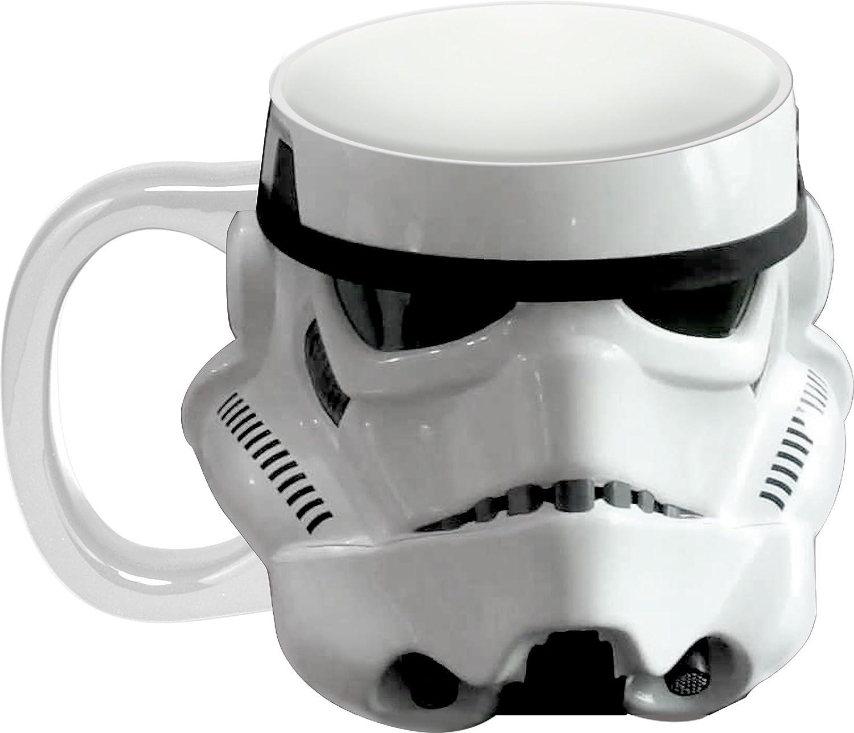 Star Wars Storm Trooper Sculpted Ceramic Mug Vandor 99101 Accessory Consumer Accessories