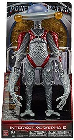 NEW Alpha 5 Interactive Action Figure from the Popular Power Rangers Movie