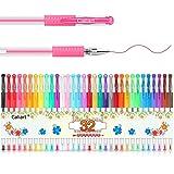 Gel Pens, Caliart 32 Colors Gel Pen Set, 40% More Ink Colored Gel Markers Fine Point Pens for Kids Adult Coloring Books, Drawing, Doodling, Crafting, Journaling, Scrapbooking