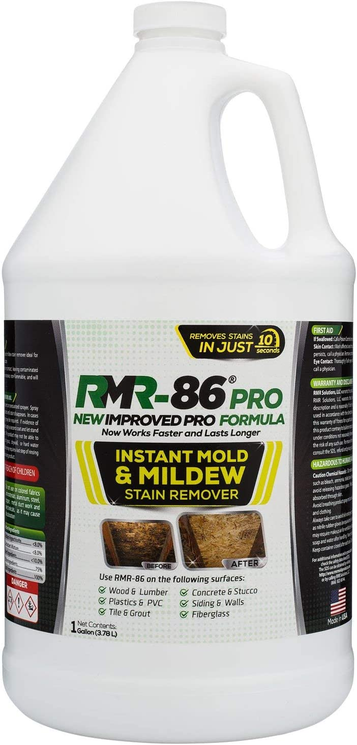 RMR-86 Pro Instant Mold Stain & Mildew Stain Remover (1 Gallon)