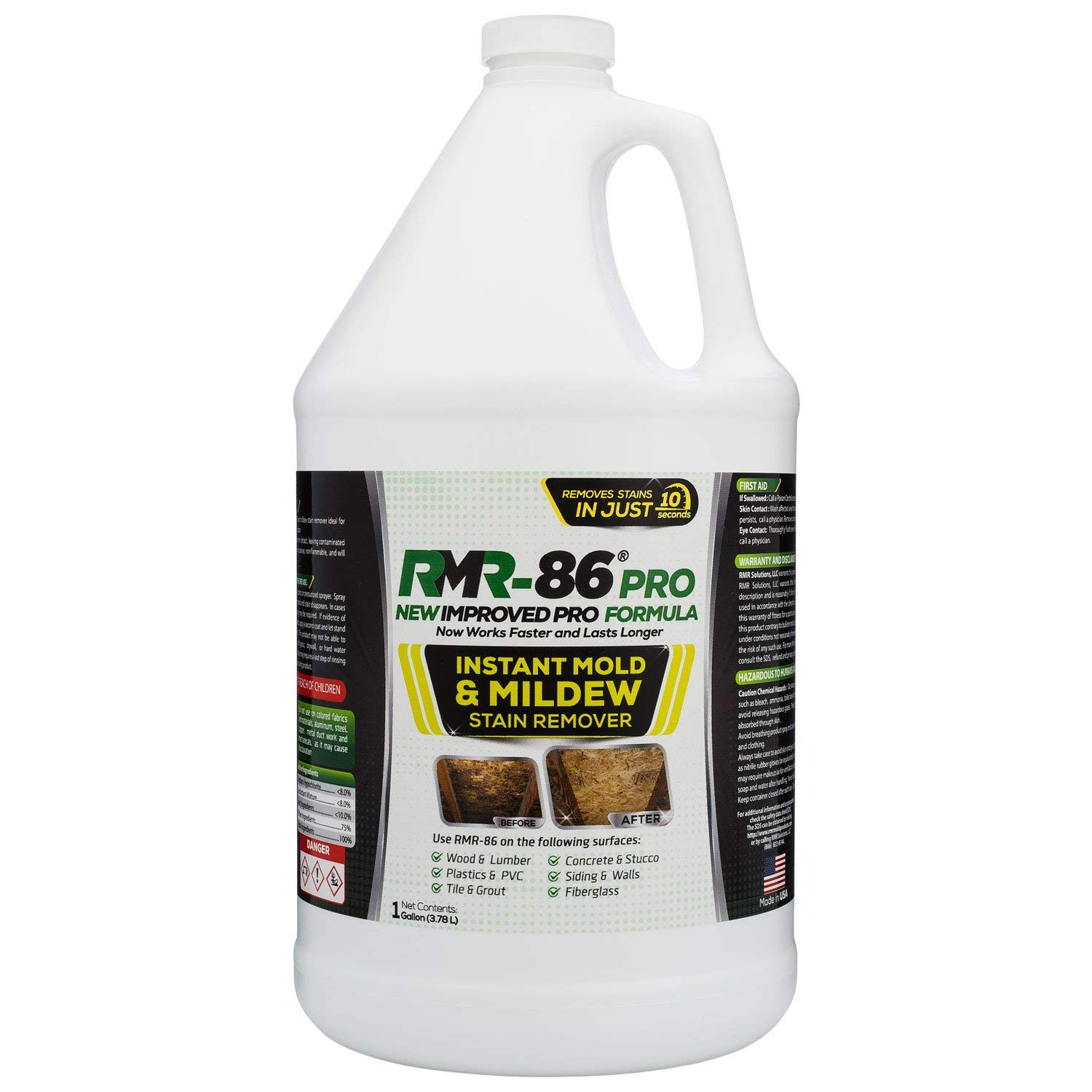 RMR-86 Pro Instant Mold & Mildew Stain Remover by RMR Products
