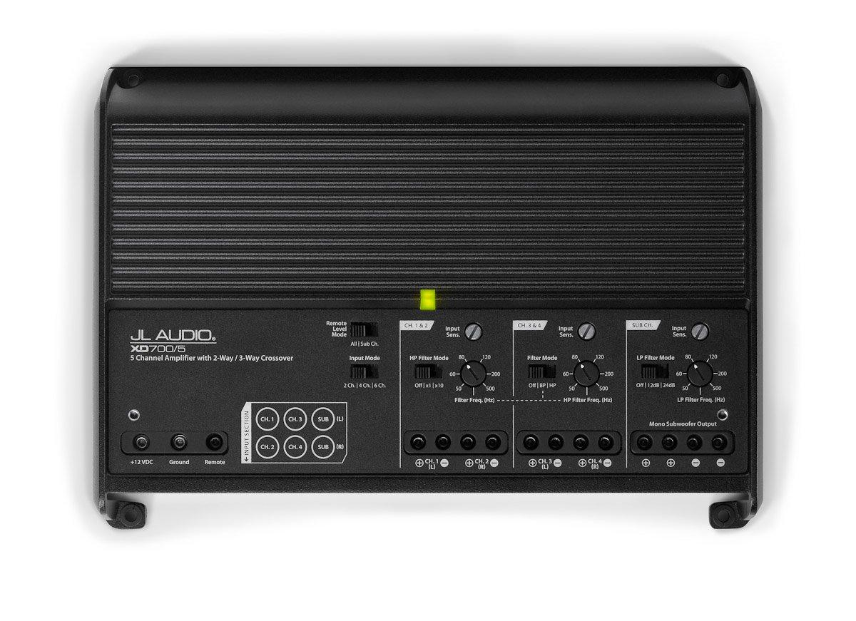 JL Audio XD700/5 - Amplificador (5 canales, clase D, 4 x 75 W + 1 x 300 W): Amazon.es: Electrónica