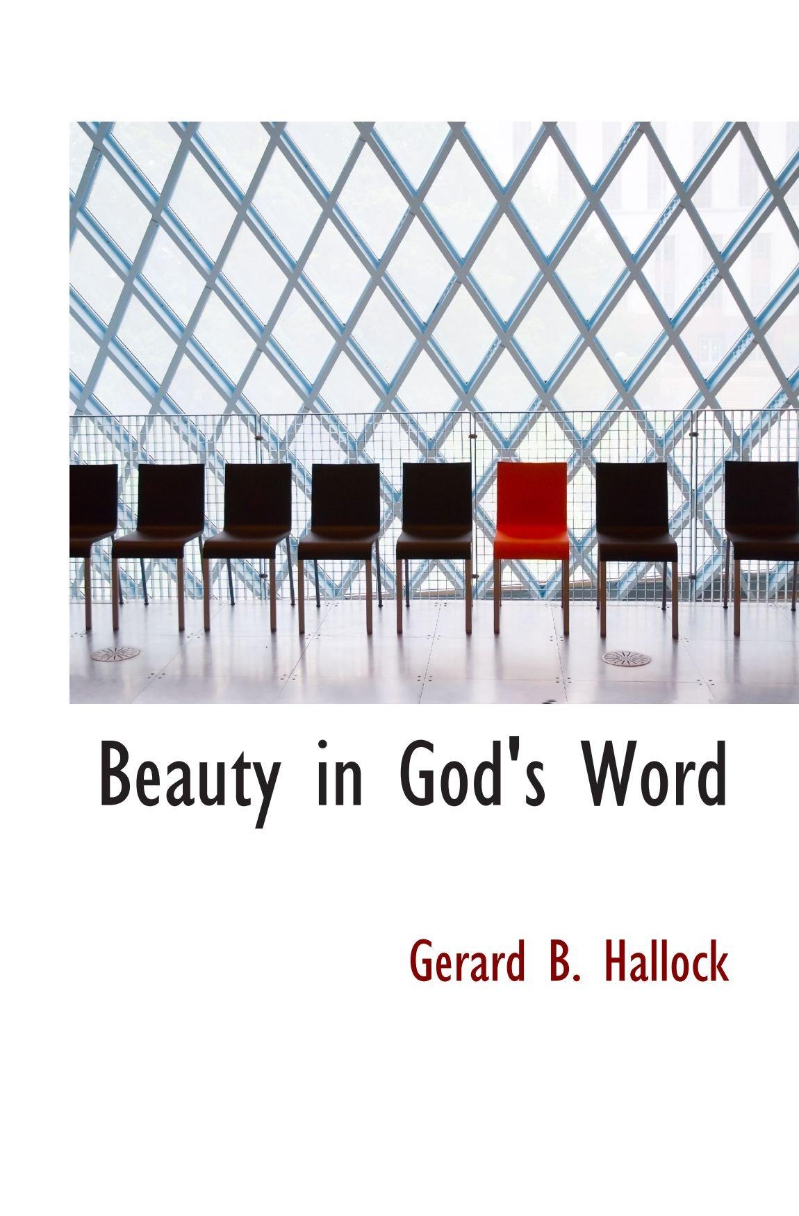 Read Online Beauty in God's Word PDF