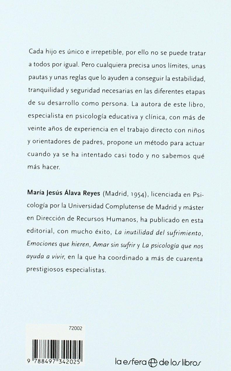 El NO también ayuda a crecer: cómo superar los momentos difíciles de los  hijos y favorecer su educación y desarrollo Autoayuda: Amazon.es: María  Jesús Álava ...