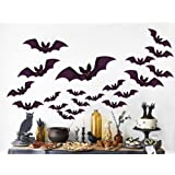 Amazon Price History for:96 PCS Halloween Party Decorations Bat Window Clings Decal Stickers Supplies(12 Sheets)