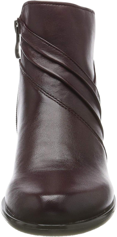 CAPRICE KELLI dames laarzen Rood Bordeaux Soft 552