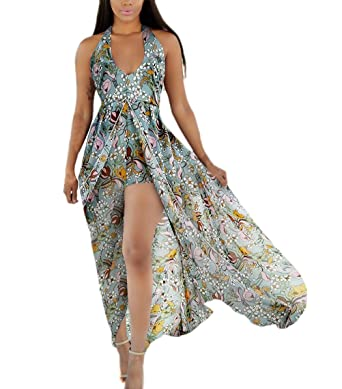 hochwertiges Design am besten online erster Blick Sommerkleider Damen Elegant Sommer Strand Chiffon Kleid Lang ...
