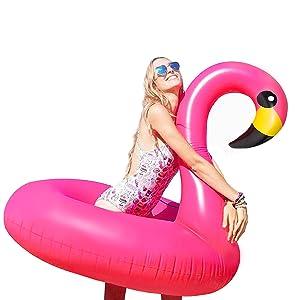 Flamenco rosa - Flotadores gigantes, el regalo estrella del verano