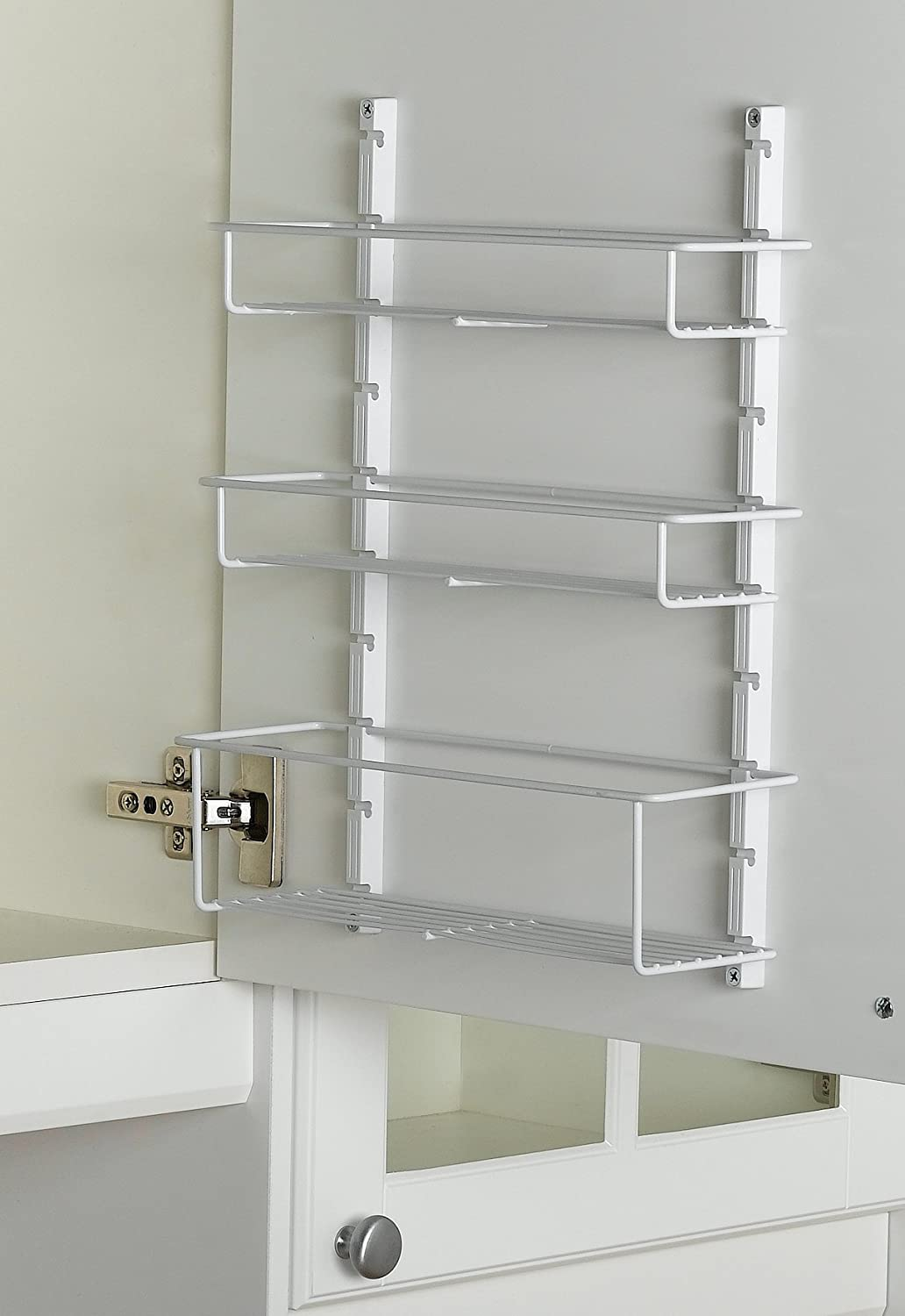 Amazon.com: ClosetMaid 3996 Kitchen Spice Rack, White: Closetmaid Wall  Cabinet: Kitchen U0026 Dining