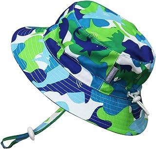 Cappello di Protezione solare Bambino piccolo Bambini 50+,idrorepellente,misura adattabile con sottogola a strappoq Twinklebelle 15-50M