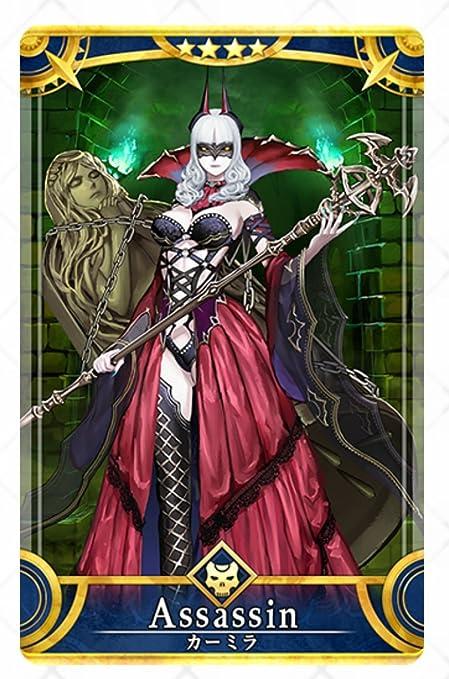 Amazon Fate Grand Order Fgo アーケード アサシン カーミラ ノーマル 静屋オリジナルイラスト付き トレカ 通販
