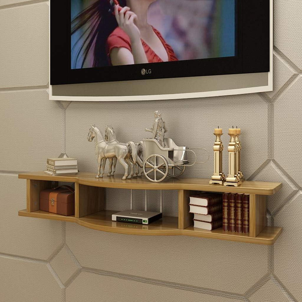 Montado en la pared del flotador soporte / soporte / soporte for WiFi Router TV decodificador de señal de caja del altavoz de Transmisión de dispositivos de juego de consola de montaje