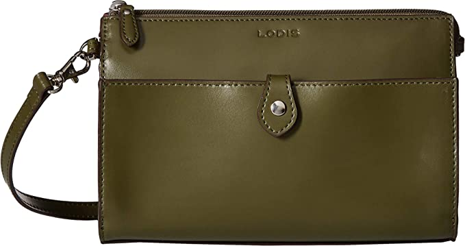 df00b1686 Image Unavailable. Image not available for. Color: Lodis Accessories  Women's Audrey RFID Vicky Convertible Crossbody Clutch ...