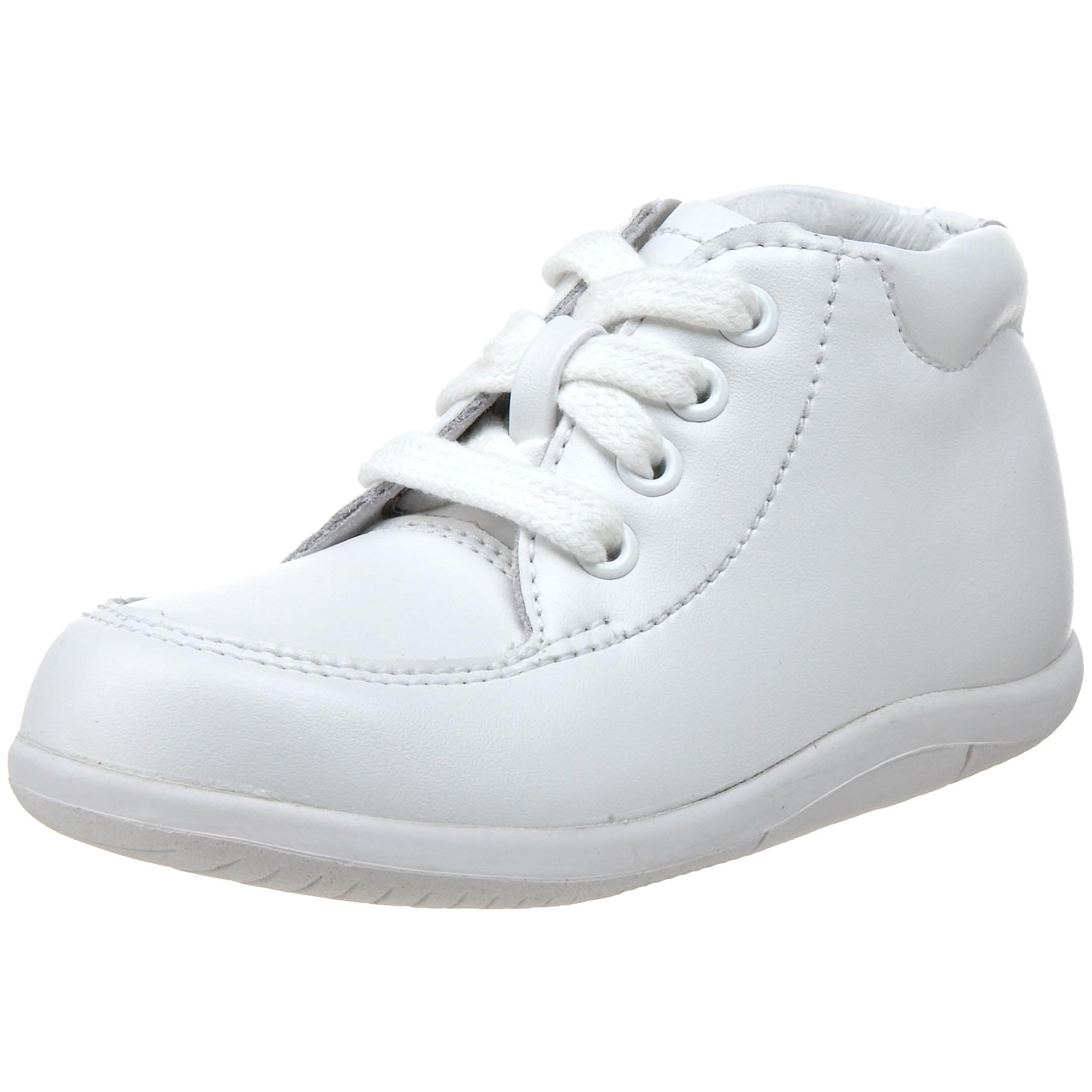 Stride Rite SRTech Grayson Bootie (Infant/Toddler),White Leather,4.5 2XW US Toddler