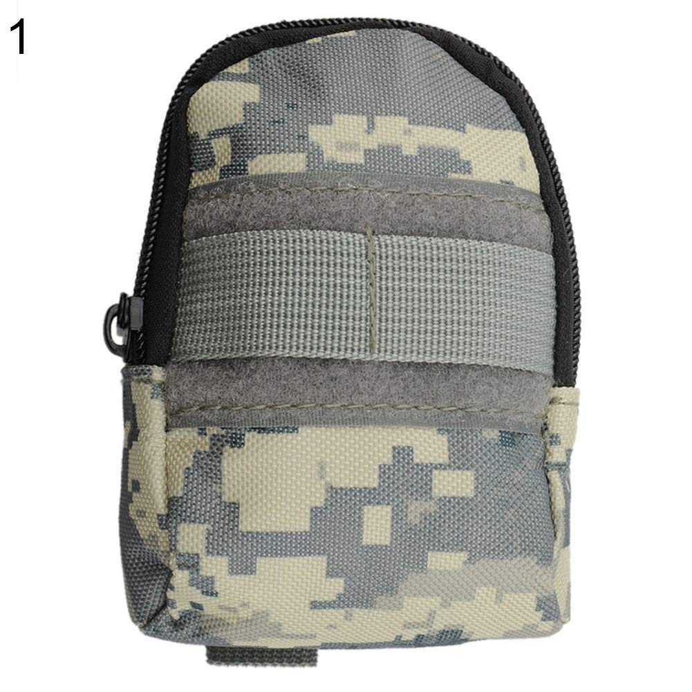 Outdoor Tactical Military Molle Camo Waist Bag Waterproof Pouch Fanny Pack Digital Camouflage bjlongyi