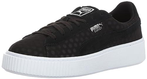 scarpe puma con zeppa