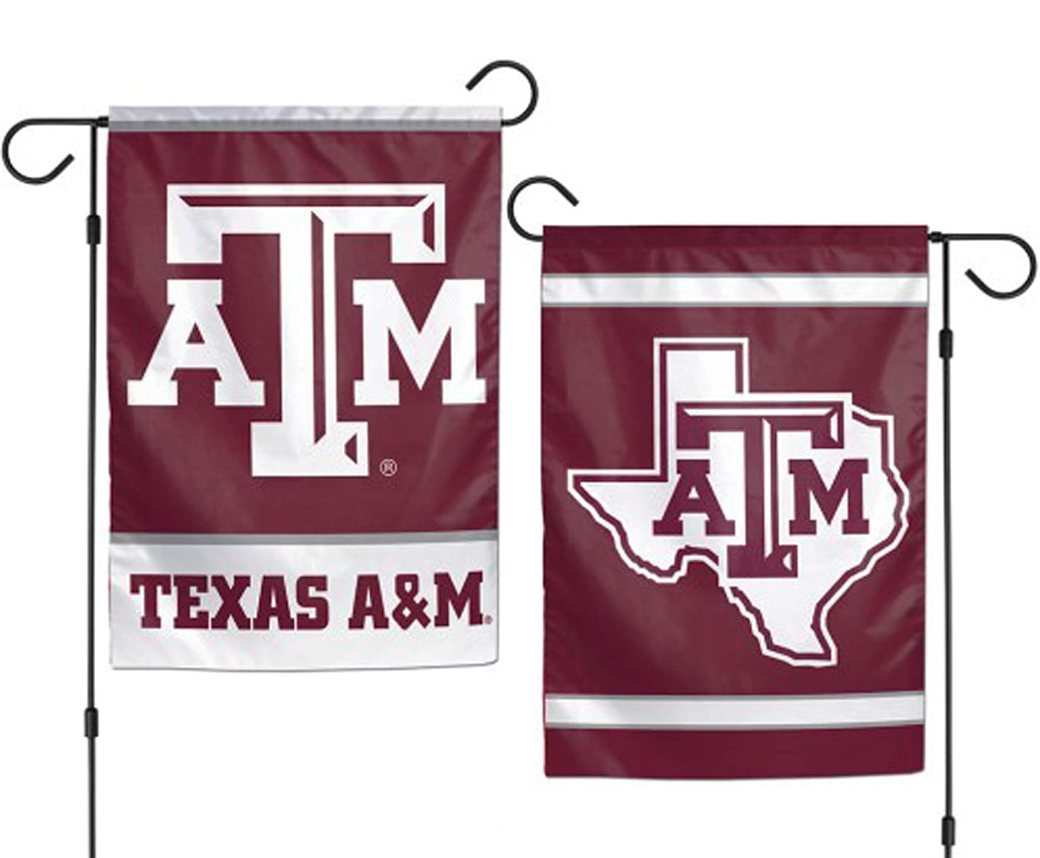 WinCraft NCAA Texas A&M University Aggies 12x18 Inch 2-Sided Outdoor Garden Flag Banner