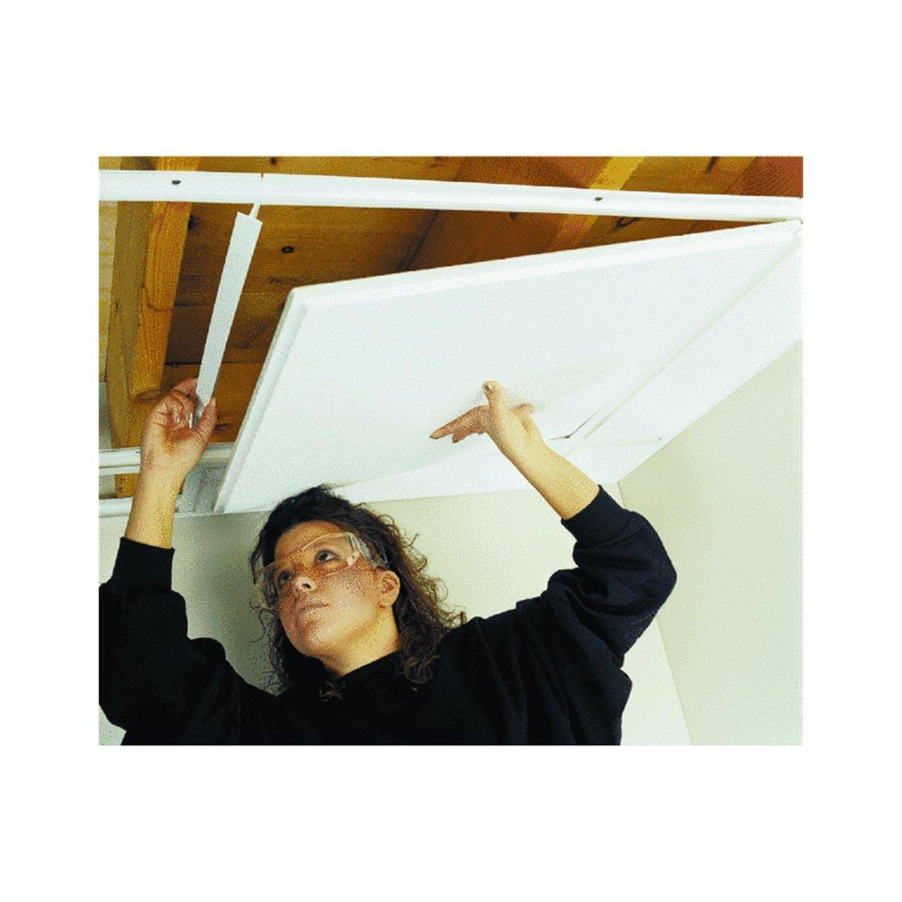 Amazon acp acoustic ceiling prod 100 003 ceilingmax 8 top amazon acp acoustic ceiling prod 100 003 ceilingmax 8 top hanger decorative tiles garden outdoor dailygadgetfo Choice Image