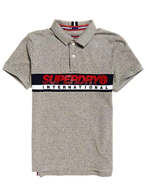 Uomo E Polo Grigio Borse SizeMediumAmazon Superdry itScarpe Pkn0wON8X