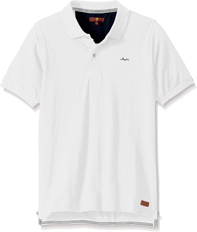 7 For All Mankind Boys Short Sleeve Polo Shirt