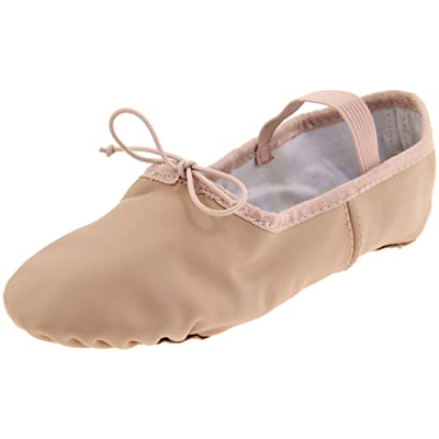 Dance Class Women's B402 Split Sole Leather Ballet Slipper | Ballet & Dance