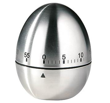 Premier Housewares Timer da cucina in acciaio INOX a forma di uovo ...