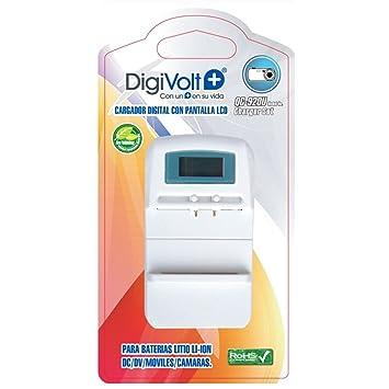 Cargador Universal Digivolt Qc-3 Cargador Digital Baterias