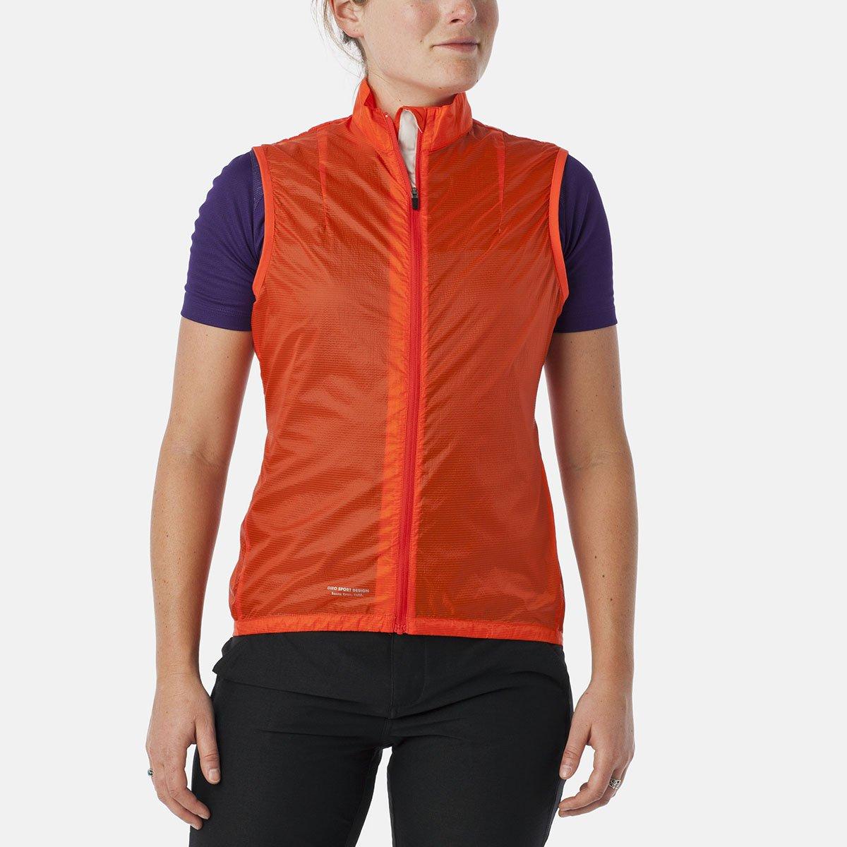 Giro Damens Wind Vest Damens Giro glowing ROT Größe M 2015 Fahrradweste 2685a9