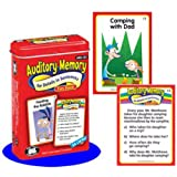 Auditory Memory for Details in Sentences Fun Deck Cards - Super Duper Educational Learning Toy for Kids