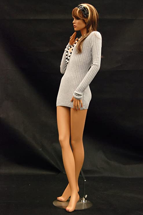 elegant stance with crossed legs. ROXYDISPLAY/™ Female mannequin MD-FR8