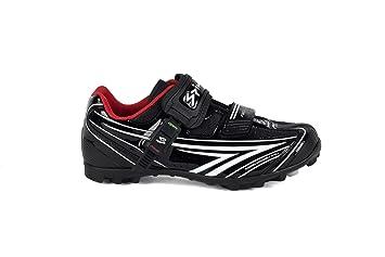 Spiuk Risko MTB - Zapatilla de ciclismo unisex, color negro/blanco, talla 44: Amazon.es: Deportes y aire libre
