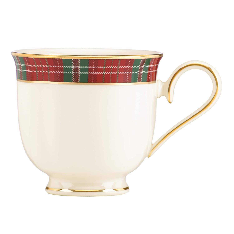 Amazon lenox winter greetings plaid cup kitchen dining kristyandbryce Choice Image