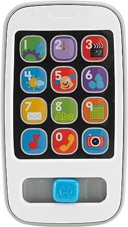 Fisher-Price Mi primer smartphone descubrimiento, juguete bebé +6 ...