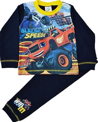 Boys Kids Blaze and the Machines Pyjamas Nightwear Cotton 18 months to 5 Years